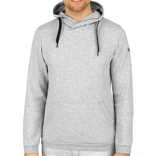 Asics Pull Over Hoody Men - Lightgrey, Black