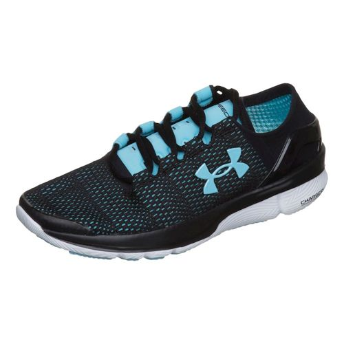 Under Armour Speedform Turbulence Competition Running Shoe Women - Black, Blue