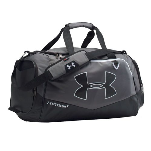 Under Armour Undeniable Sports Bag - Grey, Black