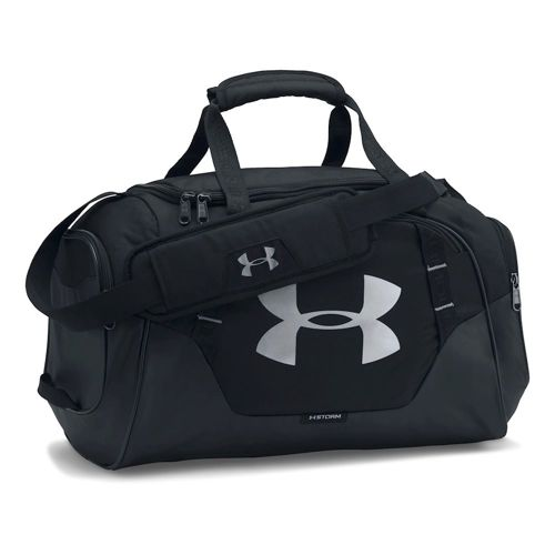 Under Armour Undeniable Duffle 3.0 Sports Bag - Black, Silver