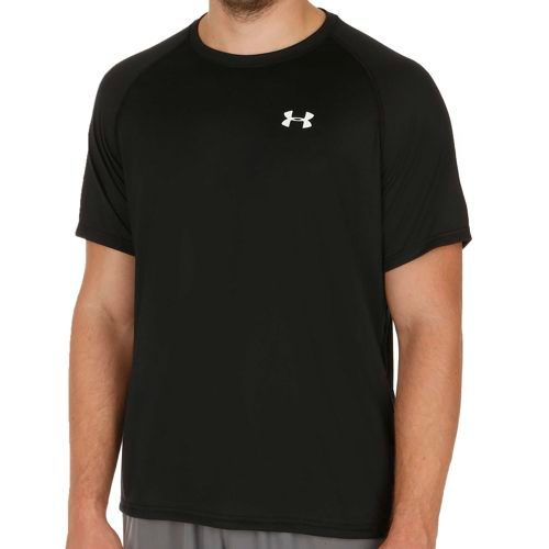 Under Armour Tech Short Sleeve Men - Black, White