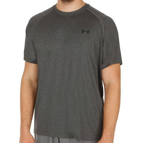 Under Armour Tech Shortsleeve T-Shirt Men - Anthracite, Black