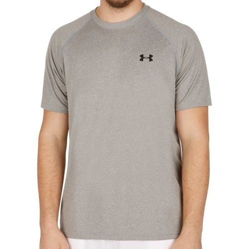 Under Armour Tech T-Shirt Men - Lightgrey, Black