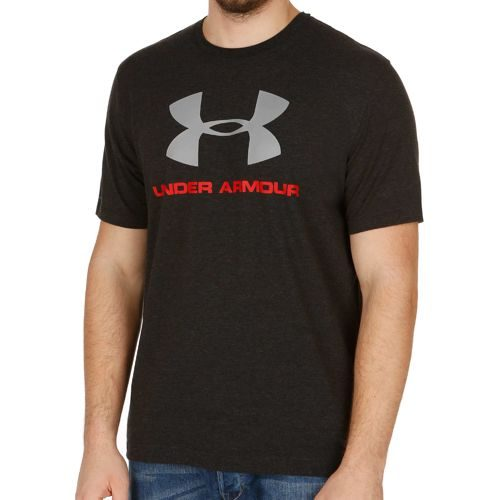 Under Armour Charged Cotton Sportstyle Logo T-Shirt Men - Black, Red