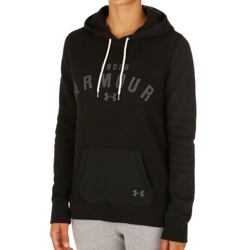 Under Armour Storm Rival Cotton Hoody Women - Black