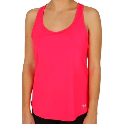 Under Armour Fly By Solid Tank Top Women - Pink