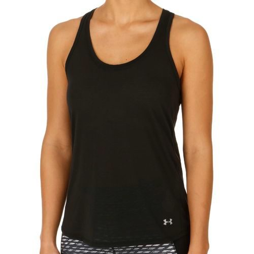 Under Armour Streaker Tank Top Women - Black