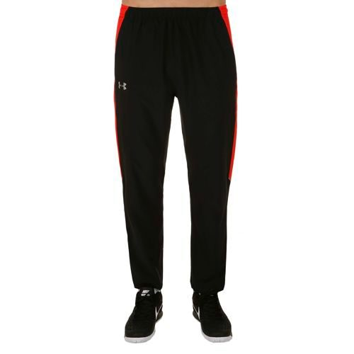 Under Armour Launch Stretch-Woven Pants Men - Black, Red