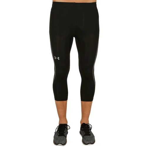 Under Armour Coolswitch Run 3/4 Running Pants Men - Black, Silver