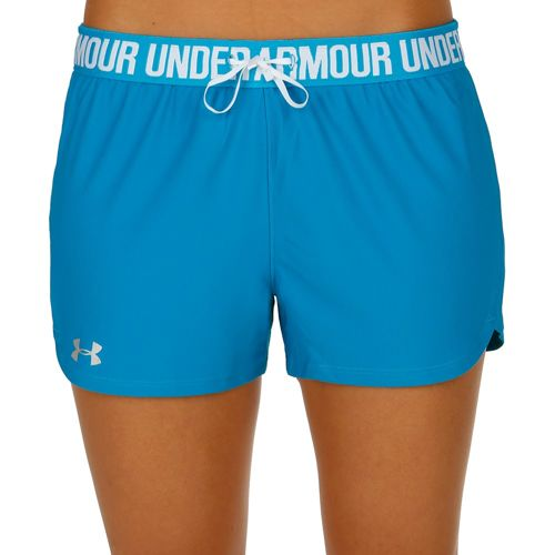 Under Armour Play Up Shorts Women - Blue, Silver