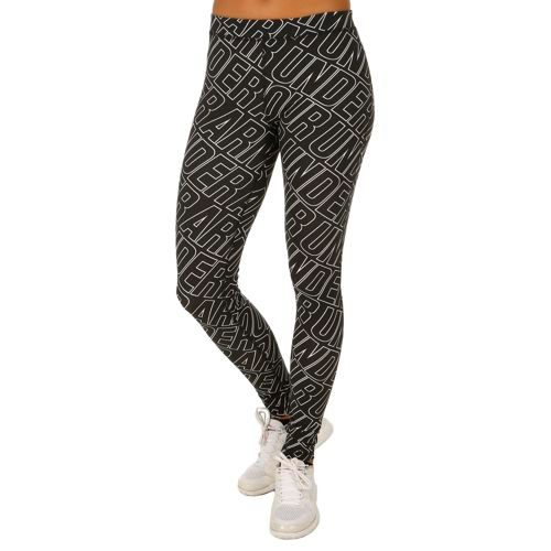 Under Armour Favorite All Over Wordmark Training Pants Women - Black, White