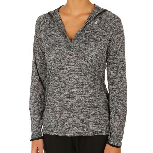 Under Armour Tech Twisted Hoody Women - Black, Silver