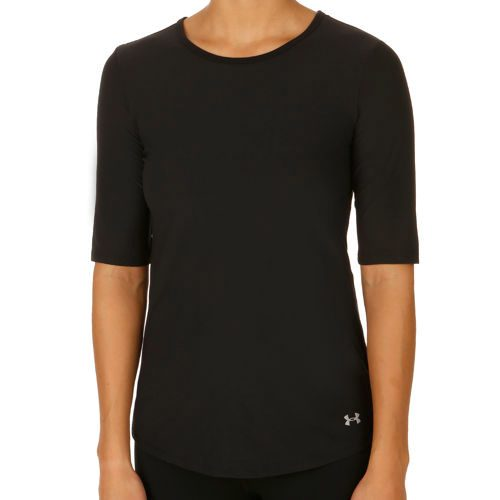 Under Armour Coolswitch Run Elbow SS T-Shirt Women - Black