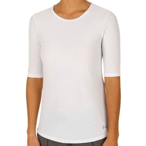 Under Armour Coolswitch Run Elbow SS T-Shirt Women - White