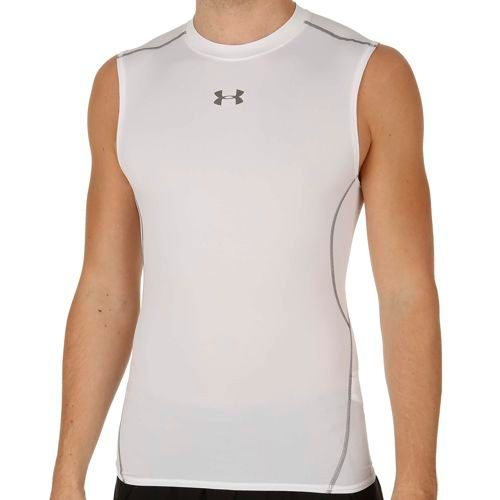 Under Armour Heatgear Armour Sleeveless Men - White, Silver