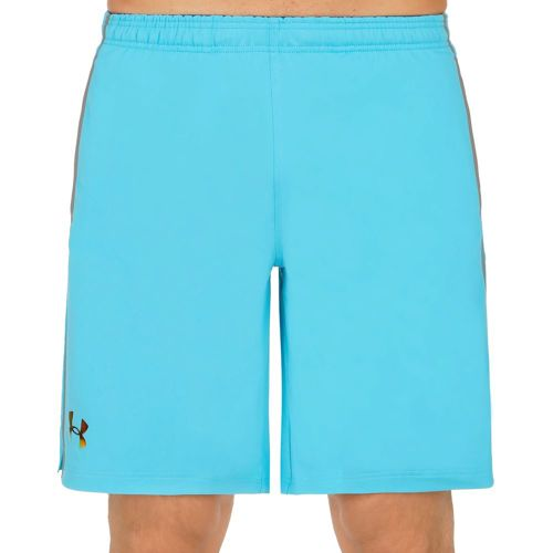 Under Armour Heatgear Podium Shorts Men - Light Blue, Black