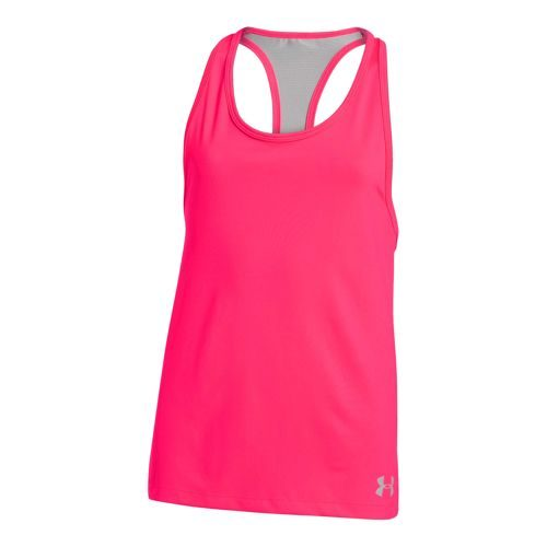 Under Armour Luna Tank Top Girls - Pink, Grey