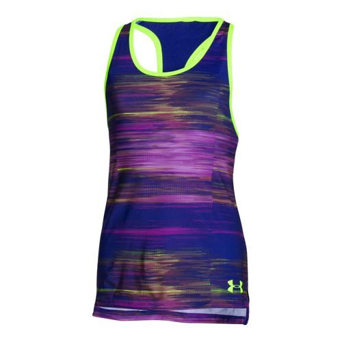 Under Armour Luna Tank Top Girls - Violet, Pink