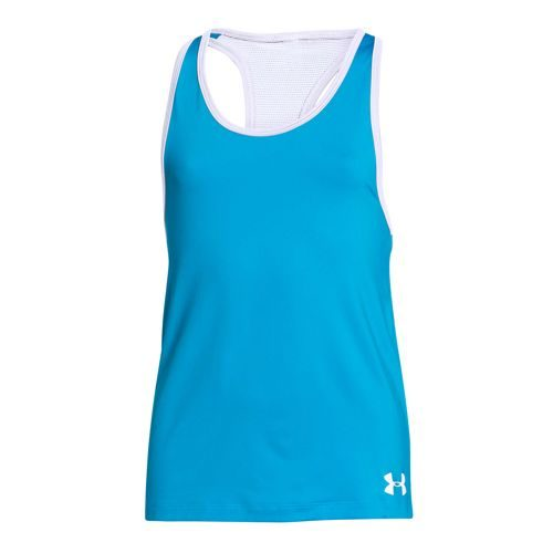 Under Armour Luna Tank Top Girls - Light Blue