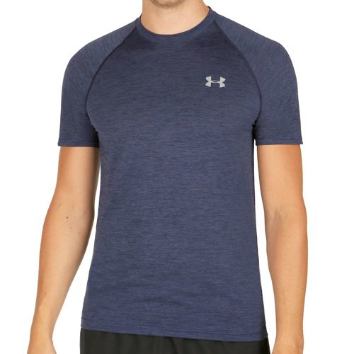 Under Armour Tech Short Sleeve Men - Dark Blue