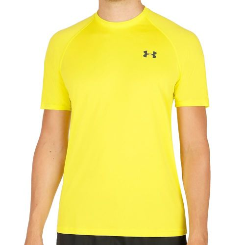 Under Armour Tech Short Sleeve Men - Neon Yellow