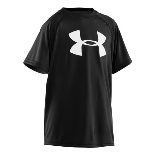 Under Armour Tech Big Logo T-Shirt Boys - Black