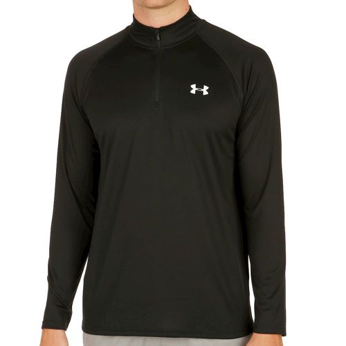 Under Armour Tech 1/4 Zip Long Sleeve Men - Black