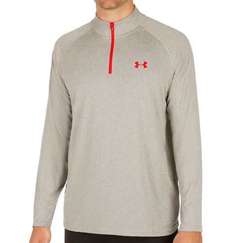 Under Armour Tech 1/4 Zip Long Sleeve Men - Grey