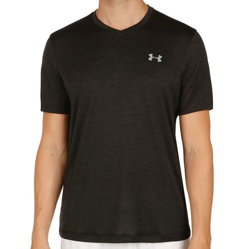 Under Armour Tech V-Neck T-Shirt Men - Black, Grey