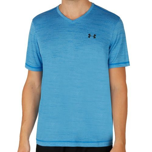 Under Armour Tech V-Neck T-Shirt Men - Blue