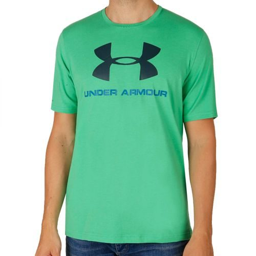 Under Armour Charged Cotton Sportstyle Logo T-Shirt Men - Green