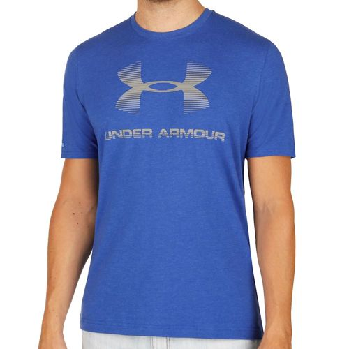 Under Armour Charged Cotton Sportstyle Logo T-Shirt Men - Blue