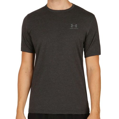 Under Armour Charged Cotton Left Chest Lockup T-Shirt Men - Black, Grey