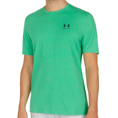 Under Armour Charged Cotton Left Chest Lockup T-Shirt Men - Green