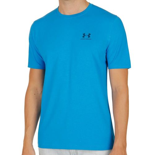Under Armour Charged Cotton Left Chest Lockup T-Shirt Men - Blue