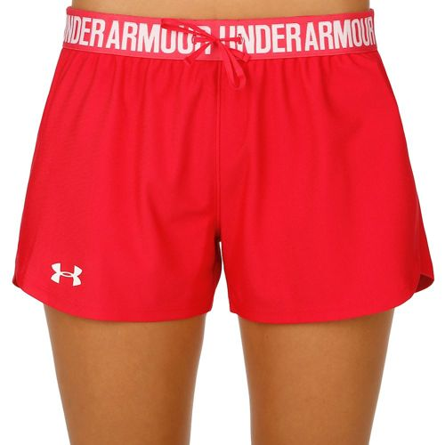 Under Armour Play Up Shorts Women - Red