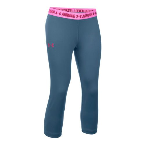 Under Armour Capri Pants Girls - Pink
