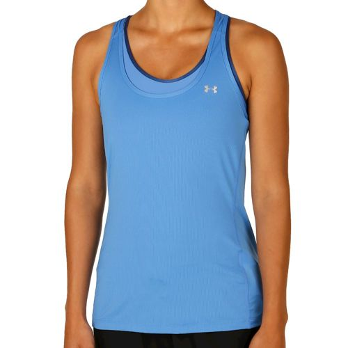 Under Armour Heatgear Race Tank Top Women - Blue