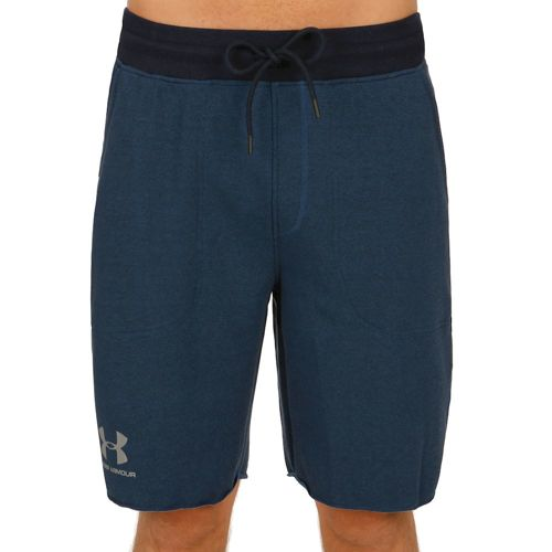 Under Armour Terry Shorts Men - Dark Blue