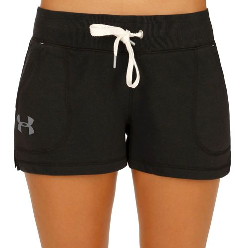 Under Armour French Terry Shorts Women - Black