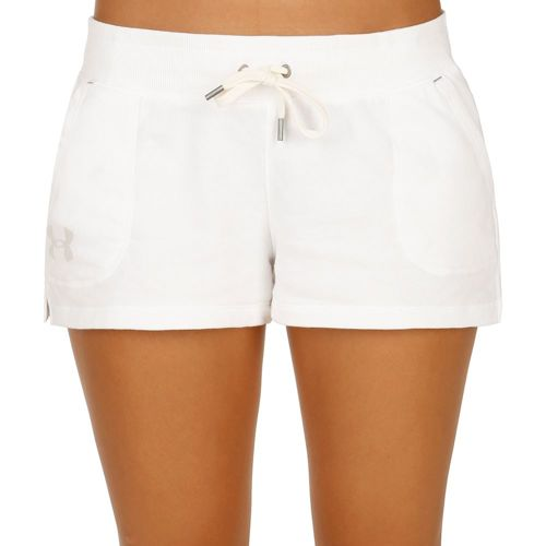 Under Armour French Terry Shorts Women - White