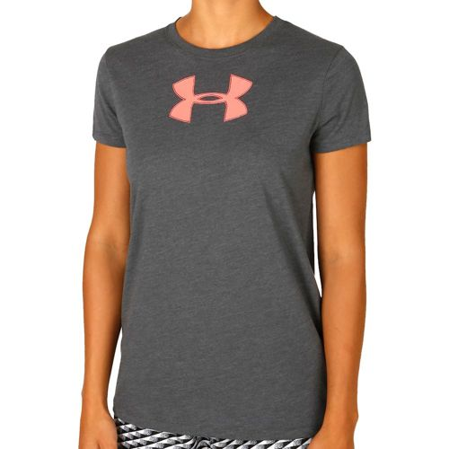Under Armour Favorite Branded T-Shirt Women - Grey