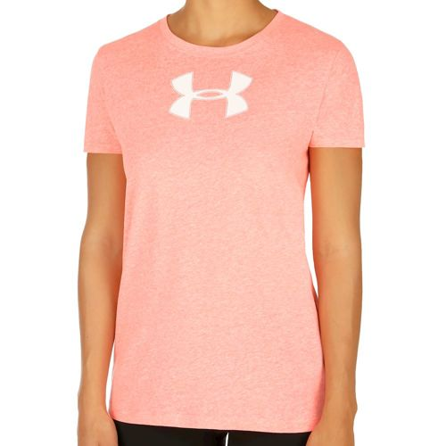 Under Armour Favorite Branded T-Shirt Women - Coral