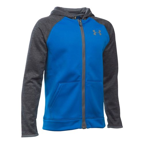 Under Armour Storm AF MagZip Training Jacket Boys - Blue, Grey