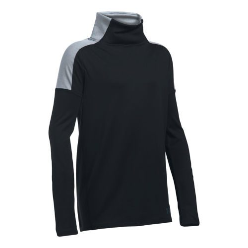 Under Armour Cozy Coldgear Long Sleeve Girls - Black