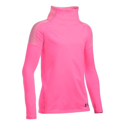 Under Armour Cozy Coldgear Long Sleeve Girls - Pink