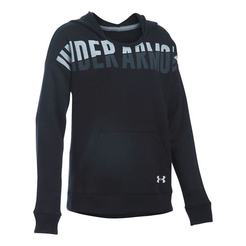 Under Armour Favorite Fleece Hoody Girls - Black
