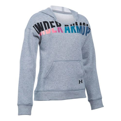 Under Armour Favorite Fleece Hoody Girls - Grey