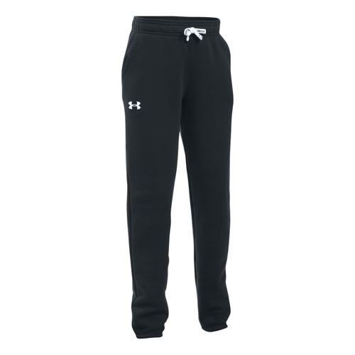 Under Armour Favorite Fleece Training Pants Girls - Black