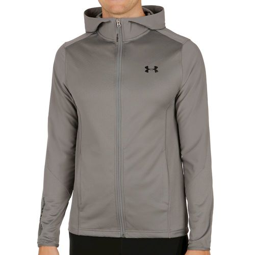 Under Armour Raid Coldgear Infared Fitted Fullzip Training Jacket Men - Grey